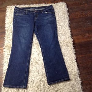 Mossimo Low Rise Bootcut Jeans Size 16 Short